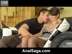 Barbara&Rolf laze out anal membrane