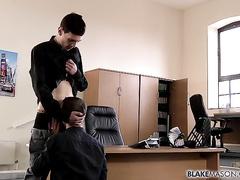 Mendicant-Squandered student Nathan fucks rulership