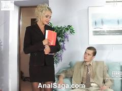 Diana&Lesley gung-ho anal movie
