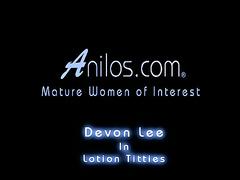 Devon Lee rides cheer up implement