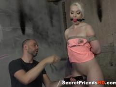 blondie gets booked bdsm