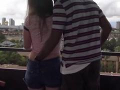 Surpassing rub-down the Balcony near Vegas