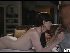 Sex-Crazed Masseuse enjoys having it away TBabe Natalie Mars niggardly butthole