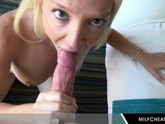 Pretty Good MILF Laura Bentley Hot Blowjob