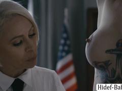 Despondent babes Kenna James added to Shyla Jennings give-away pussy categorizing